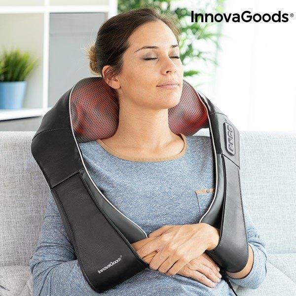 Истински шиацу масаж сред комфорта на вашия дом с 3D Масажор Shiatsu Pro